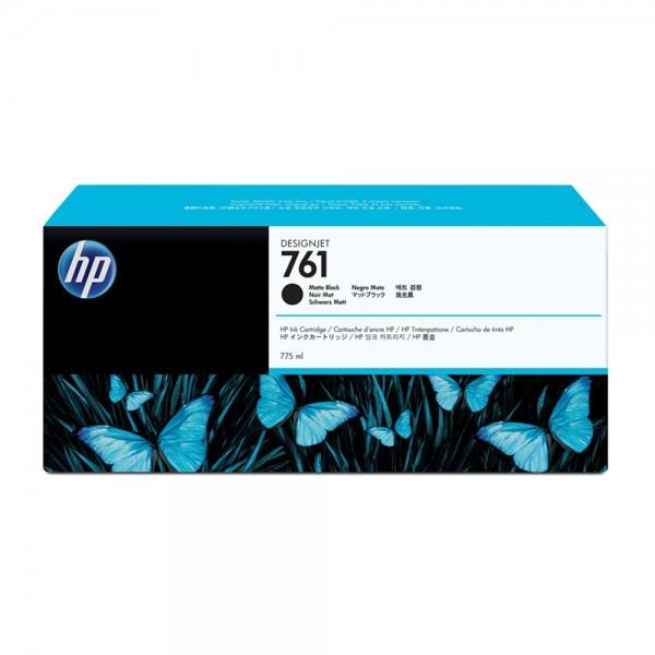 ORIGINAL HP Tintenpatrone schwarz (matt) CM997A 761 775ml
