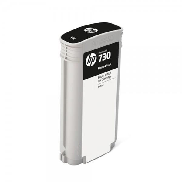 ORIGINAL HP Tintenpatrone Schwarz (Foto) P2V67A 730 130ml