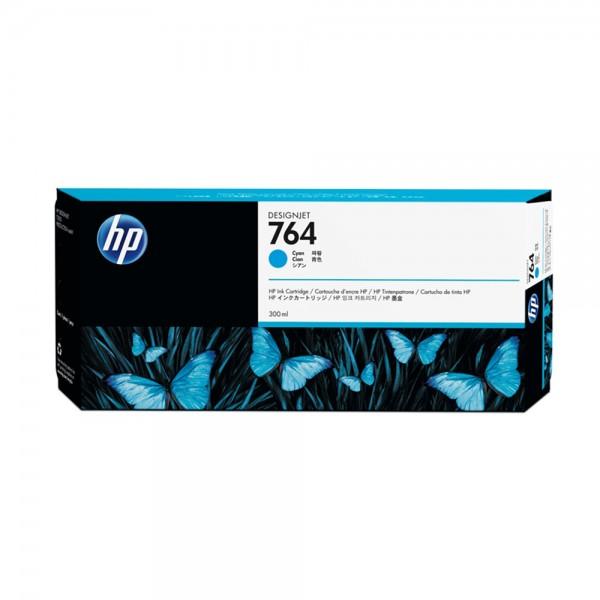 Original HP Tintenpatrone cyan (C1Q13A,764,764C,764CYAN,NO764,NO764C,NO764CYAN)
