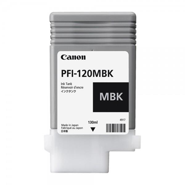 ORIGINAL Canon Tintenpatrone Schwarz (Matt) PFI-120mbk 2884C001 130ml