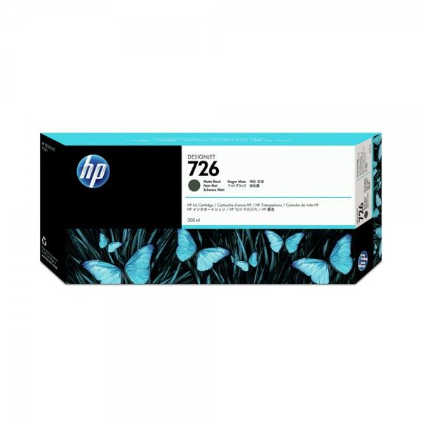 ORIGINAL HP Tintenpatrone schwarz (matt) CH575A 726 300ml