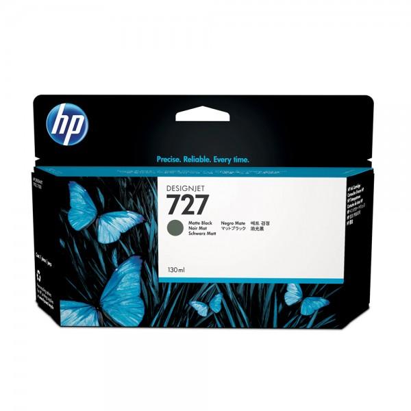 ORIGINAL HP Tintenpatrone schwarz (matt) B3P22A 727 130ml