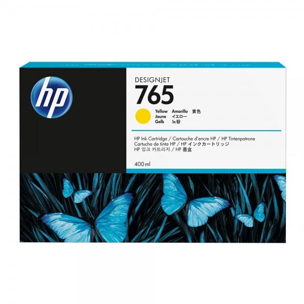 ORIGINAL HP Tintenpatrone gelb F9J50A 765 400ml